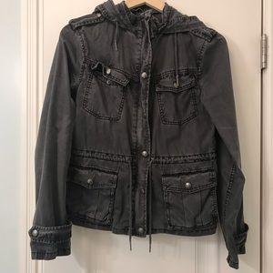 Aritzia Talula grey thin jacket